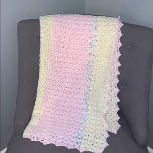 Vintage baby Crocheted blanket